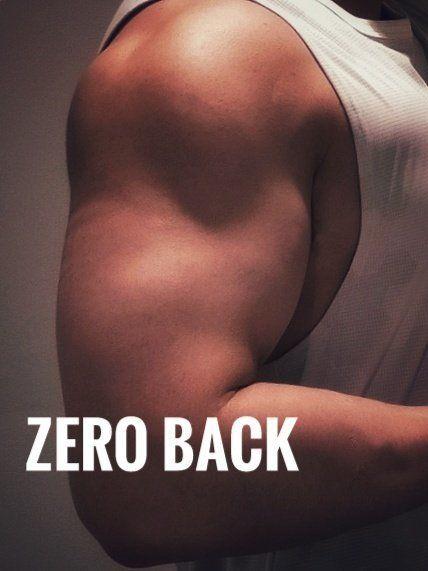 「Zero back」のカバー写真