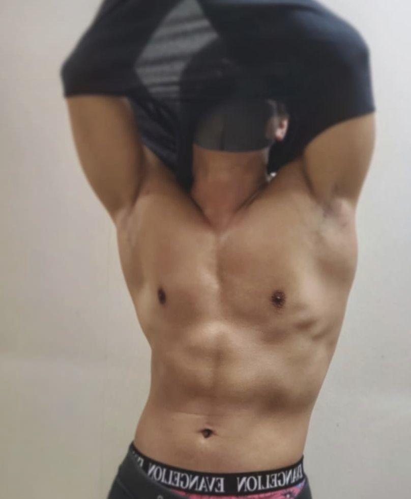「Black light gay massage 」のカバー写真