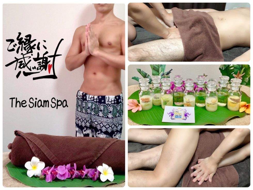 「the siam spa for MEN」のカバー写真